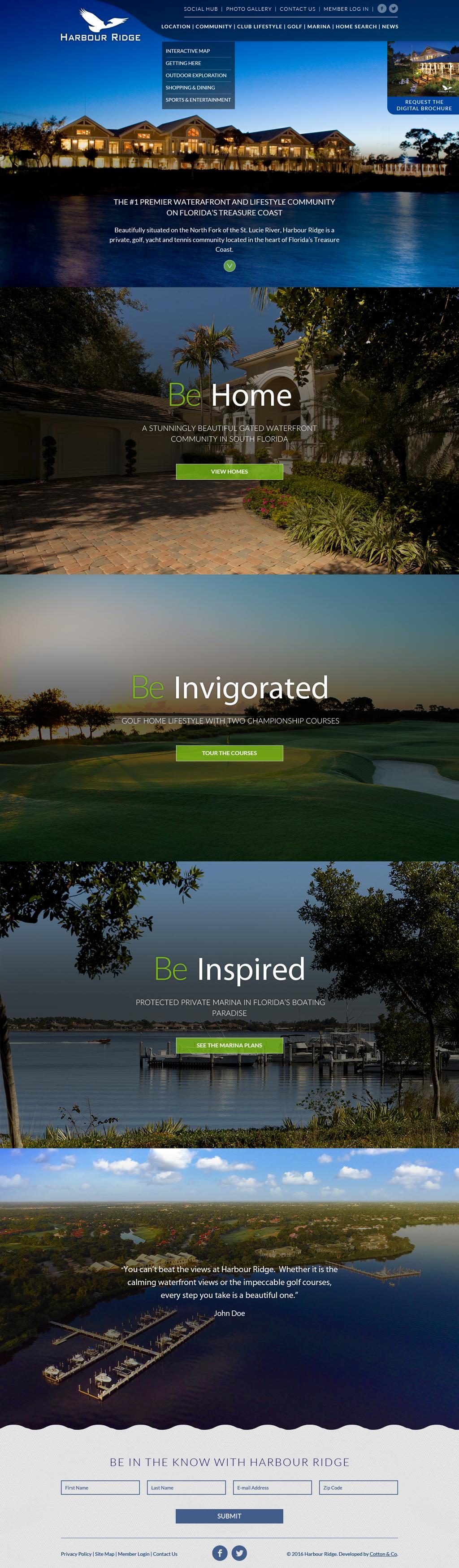 Waterfront Golf Community | Harbour Ridge | Palm City FL