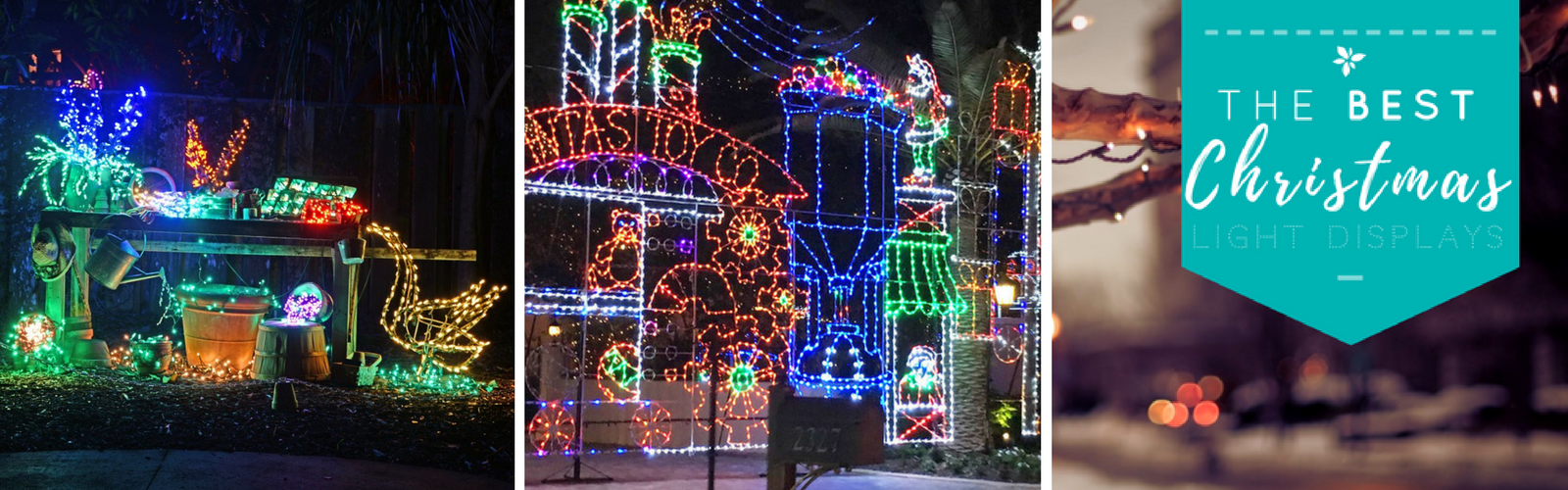 Treasure Coast Holiday Christmas Lights Map