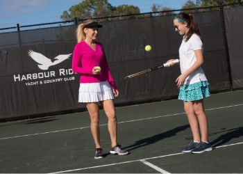 Harbour Ridge's 2019 Summer Tennis Member Program Harbour Ridge style=