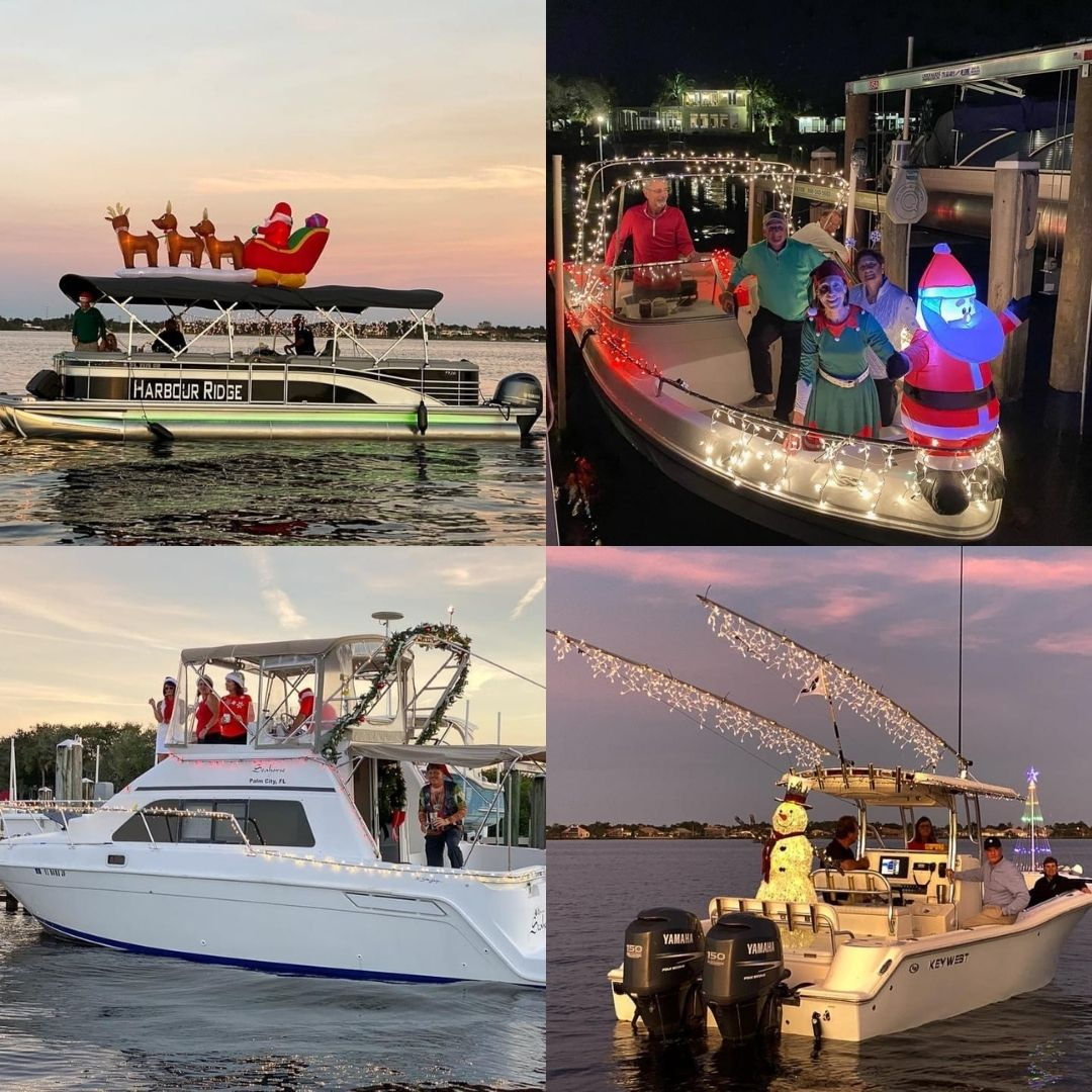 harbour ridge holiday boat parade