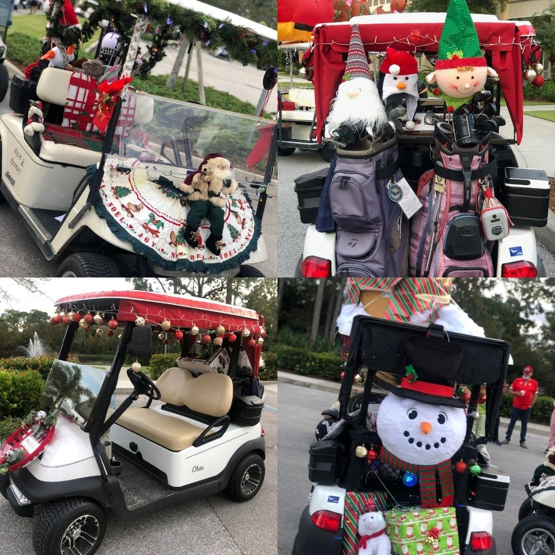 Harbour Ridge Golf Cart Parade